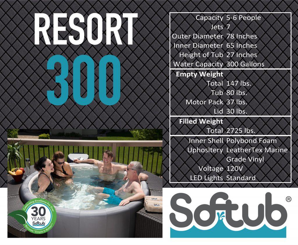 Softub Resort 300