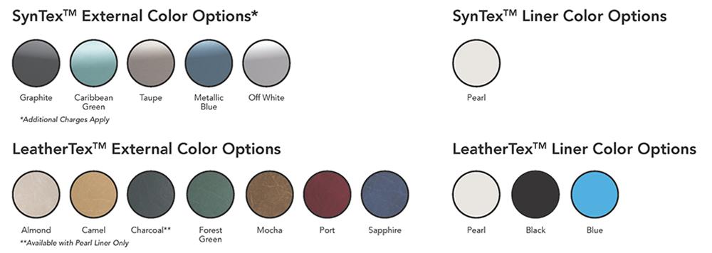Softub Colors
